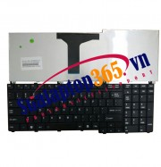 Ban phim laptop Toshiba Qosimio G50 Series black