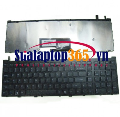 Ban phim laptop Sony vaio VGN-AW Series